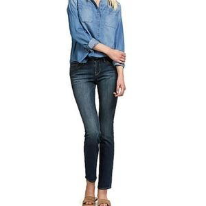 Lucky Brand Sweet'N Straight Size 0/25 Long Jeans
